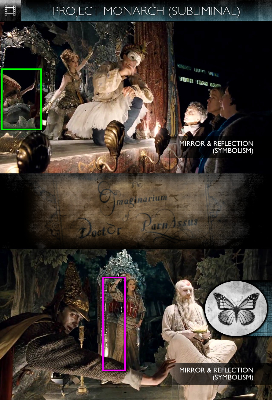 The Imaginarium of Doctor Parnassus (2009) - Project Monarch - Subliminal