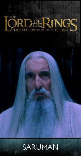 The Lord of the Rings - The Fellowship of the Ring (2001) - Saruman (SET)-tb