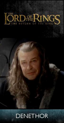 The Lord of the Rings - The Return of the King (2003) - Denethor (SET)-tb