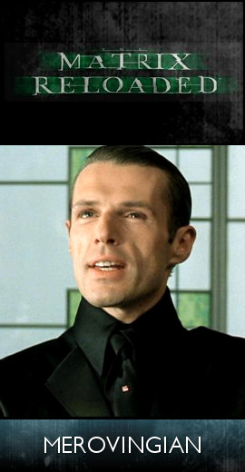 The Matrix Reloaded (2003) - The Merovingian (SET)-tb