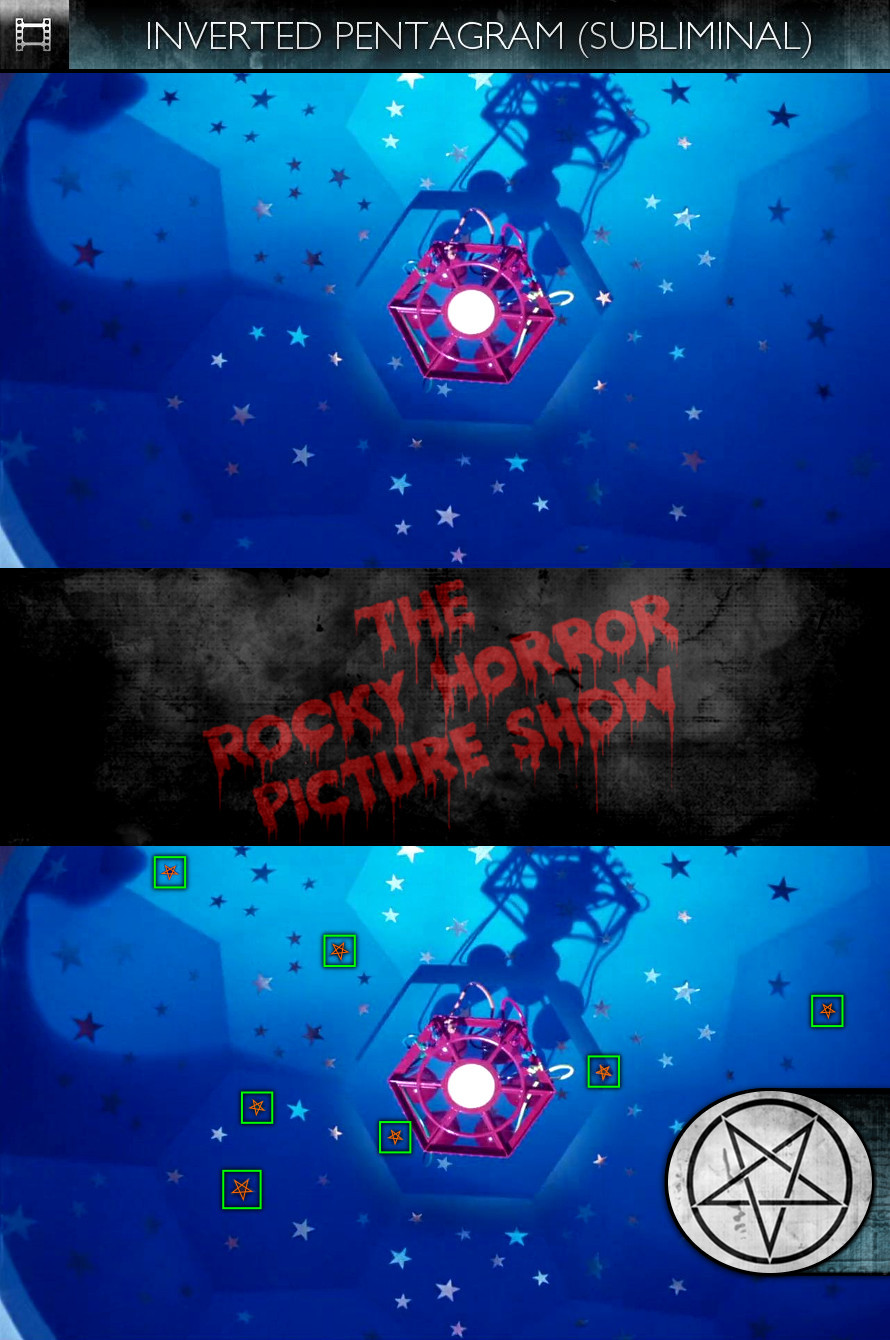 The Rocky Horror Picture Show (1975) - Inverted Pentagram - Subliminal