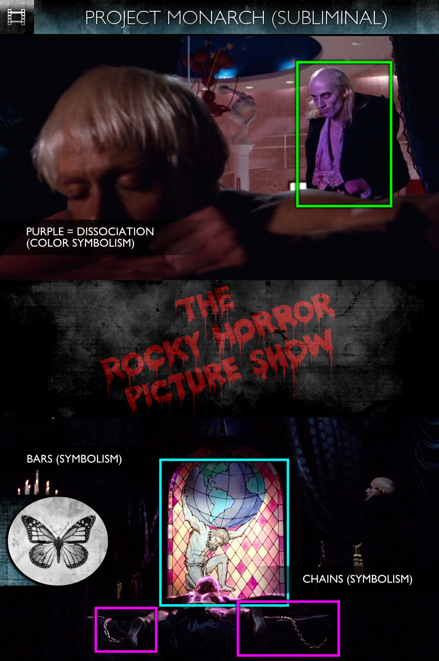The Rocky Horror Picture Show (1975) - Project Monarch - Subliminal