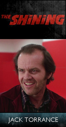 The Shining (1980) - Jack Torrance (SET)-tb