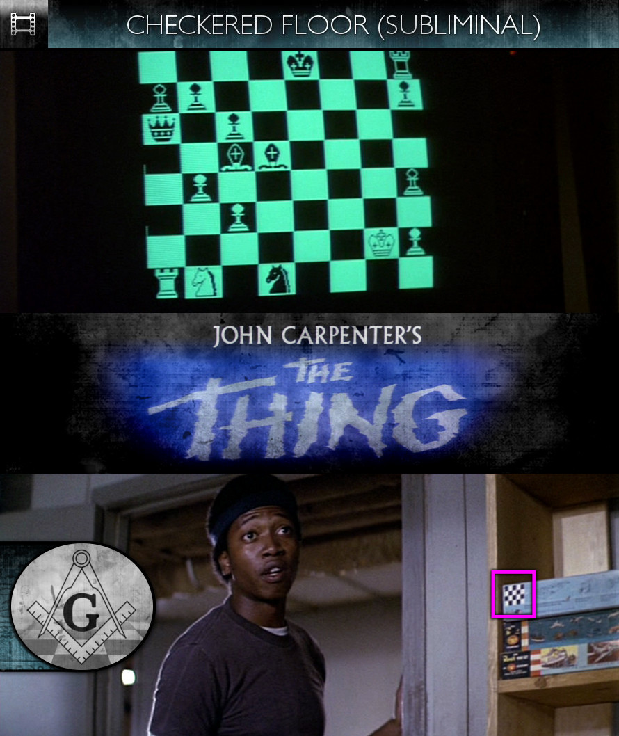 The Thing (1982) - Checkered Floor - Subliminal