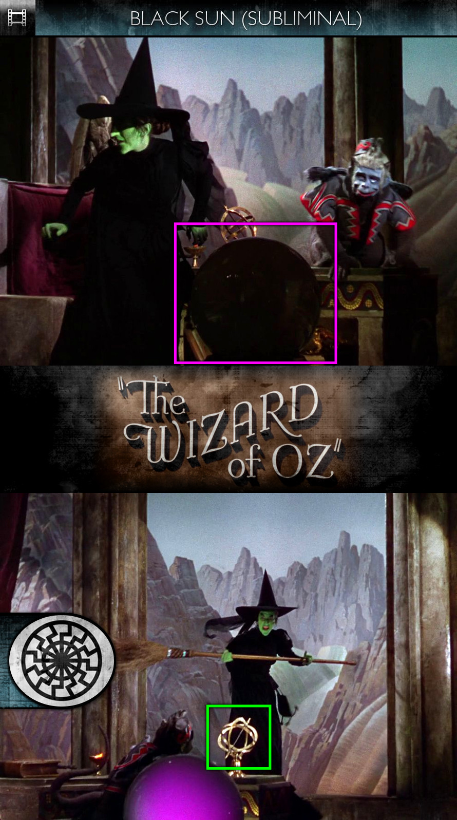 The Wizard of Oz (1939) - Black Sun - Subliminal