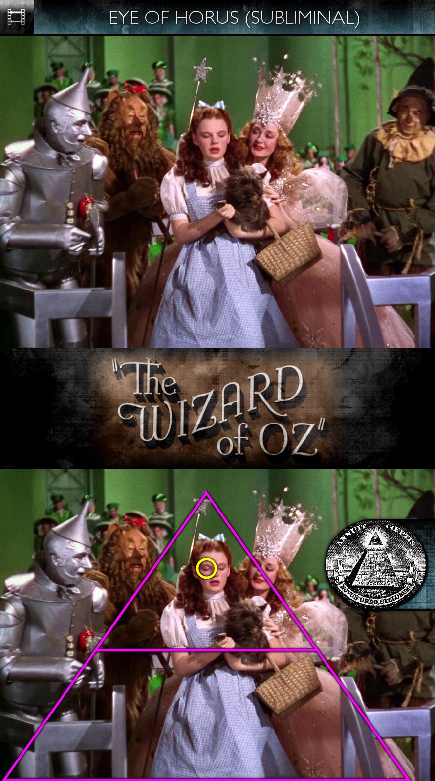 The Wizard of Oz (1939) - Eye of Horus - Subliminal