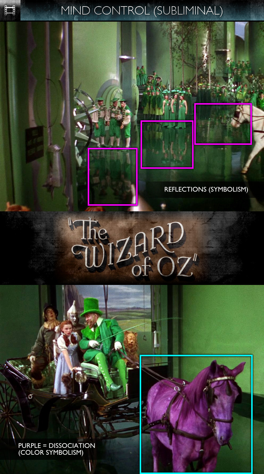 The Wizard of Oz (1939) - Mind Control - Subliminal