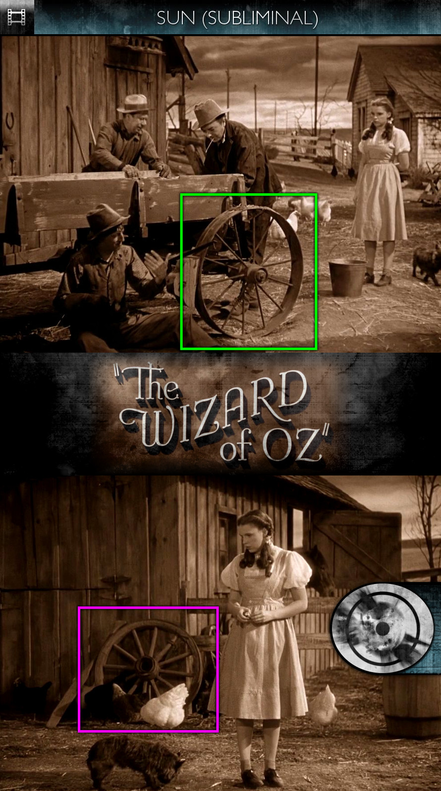 The Wizard of Oz (1939) - Sun/Solar - Subliminal