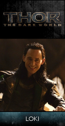 THOR - The Dark World (2013) - Loki (SET)-tb