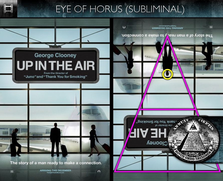 Up In The Air (2009) - Poster - Eye of Horus - Subliminal