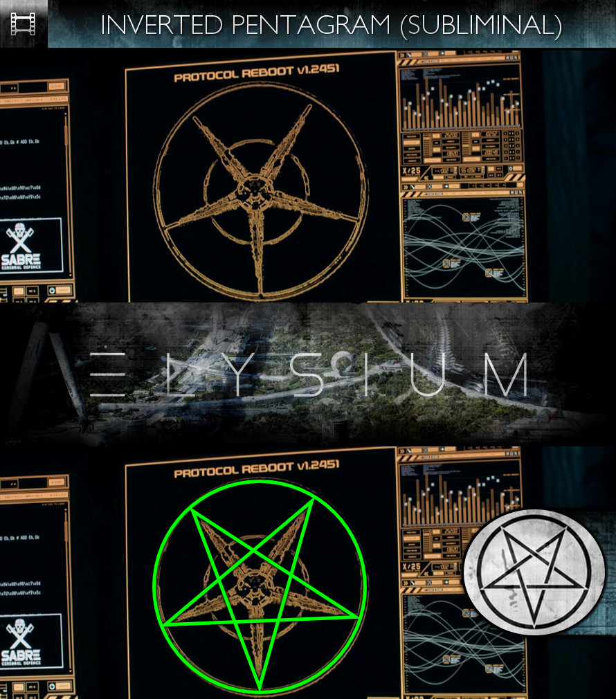 Elysium (2013) - Inverted Pentagram - Subliminal