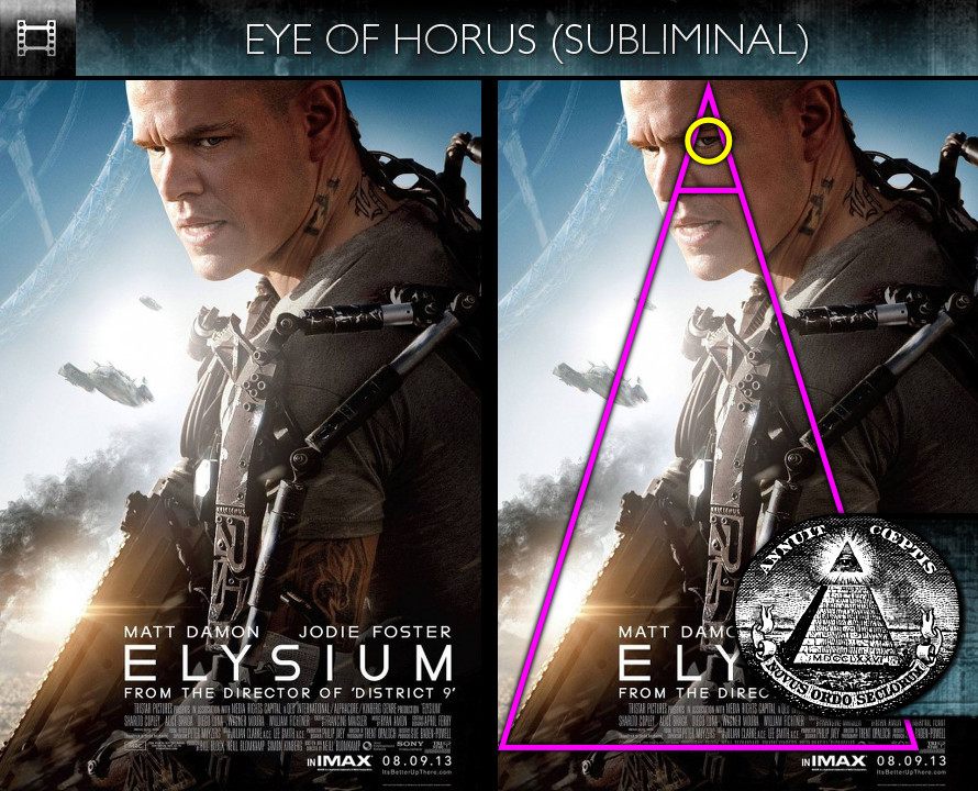 Elysium (2013) - Poster - Eye of Horus - Subliminal