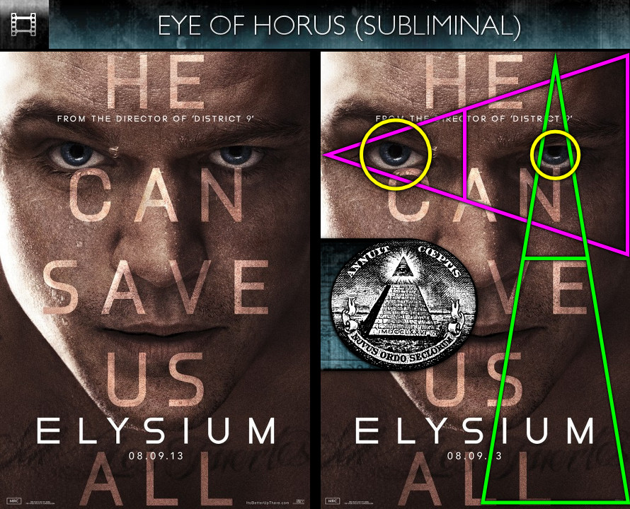 Elysium (2013) - Poster - Eye of Horus - Subliminal
