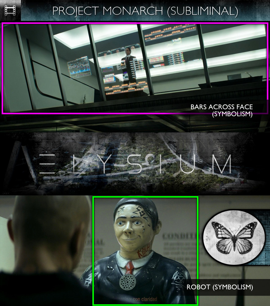 Elysium (2013) - Project Monarch - Subliminal