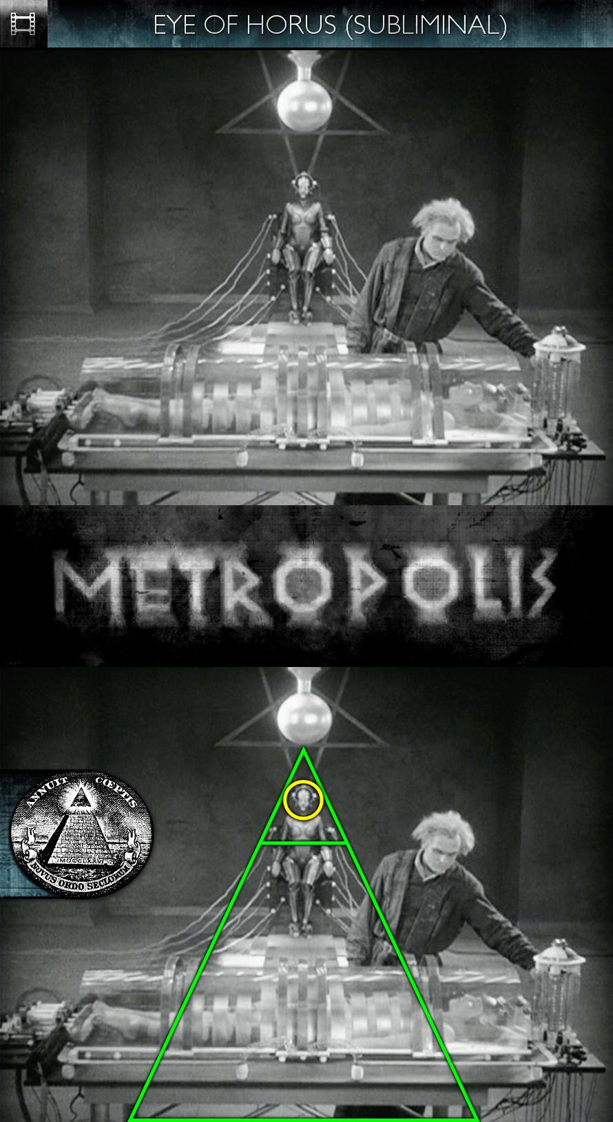 Metropolis (1927) - Eye of Horus - Subliminal