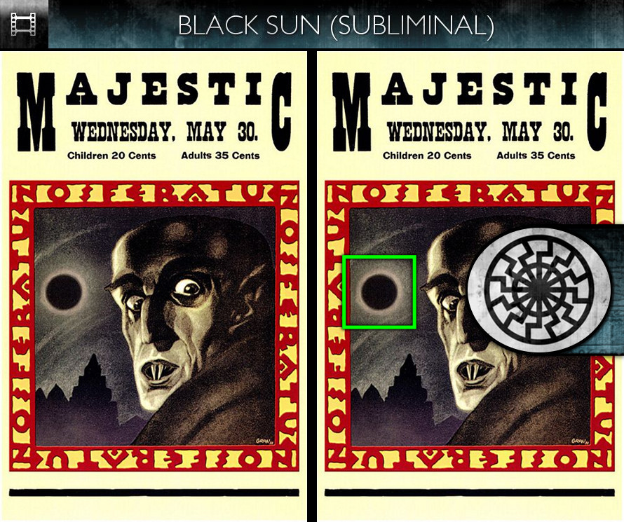Nosferatu (1922) - Poster - Black Sun - Subliminal