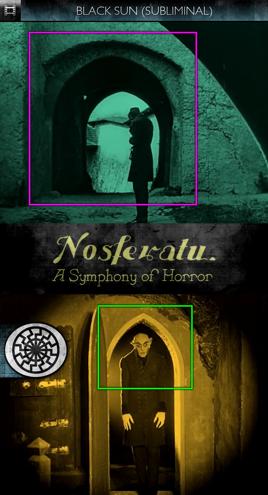 Nosferatu - A Symphony of Horror (1922) - Black Sun - Subliminal