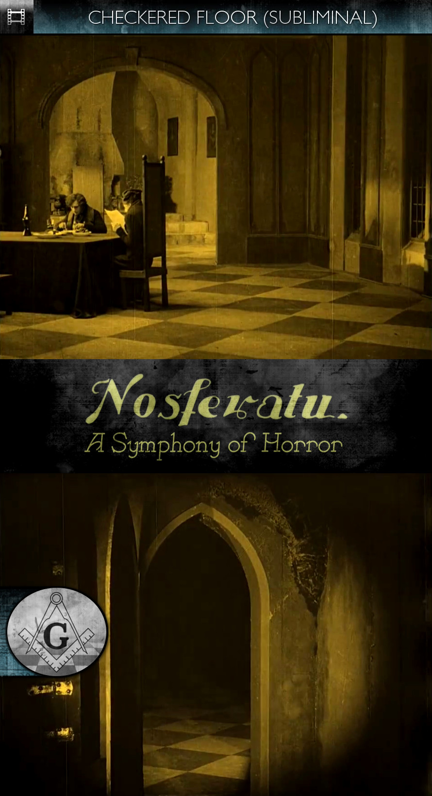 Nosferatu - A Symphony of Horror (1922) - Checkered Floor- Subliminal