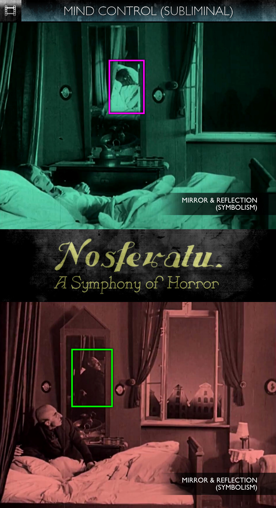 Nosferatu - A Symphony of Horror (1922) - Mind Control - Subliminal
