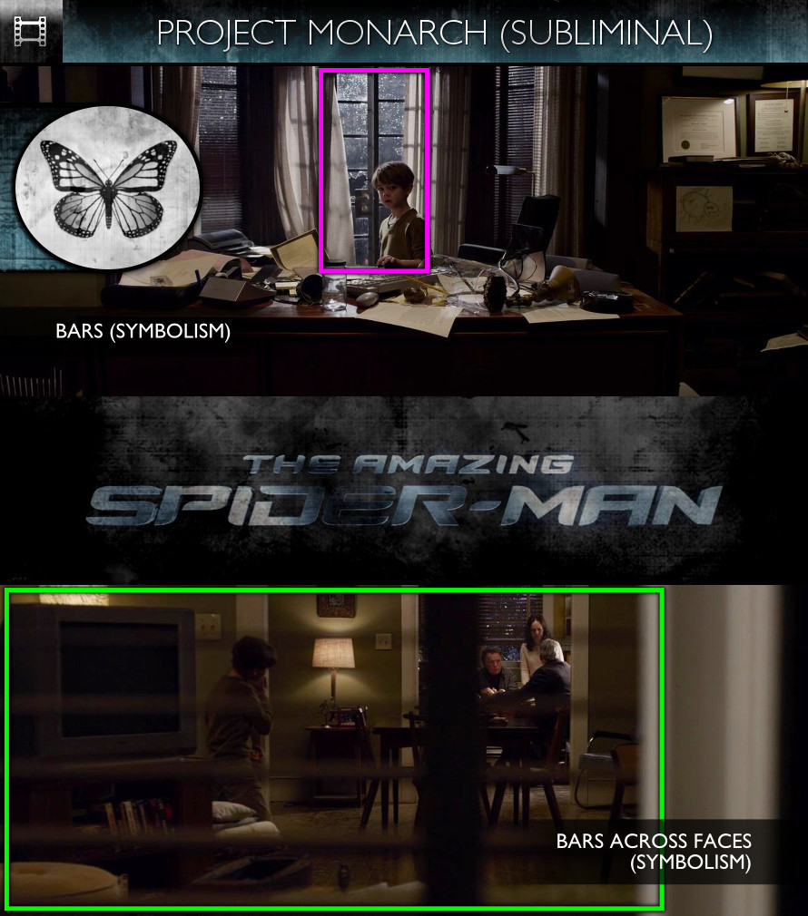 The Amazing Spider-Man (2012) - Project Monarch - Subliminal