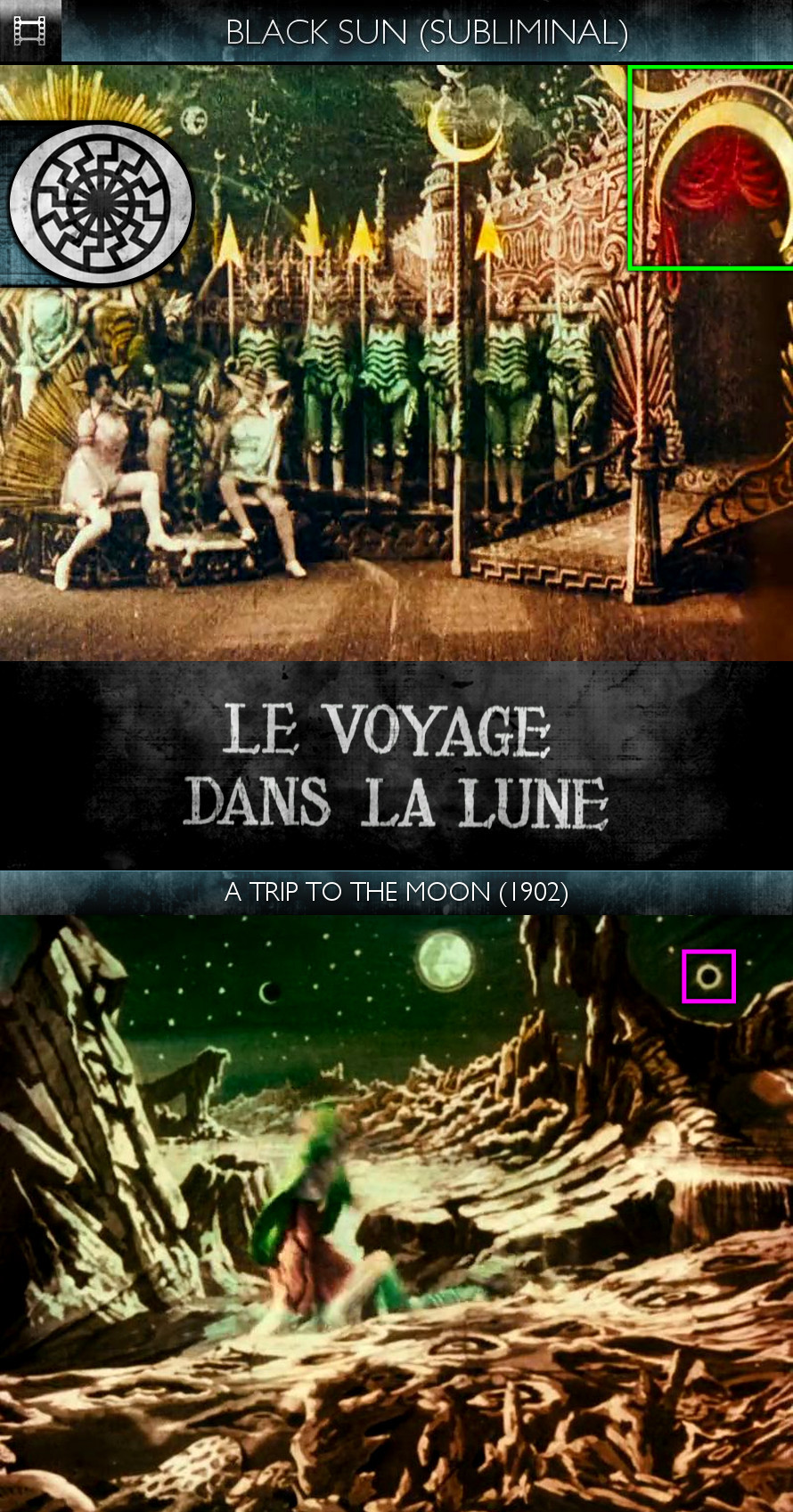 Voyage dans la Lune (A Trip to the Moon) (1902) - Black Sun - Subliminal