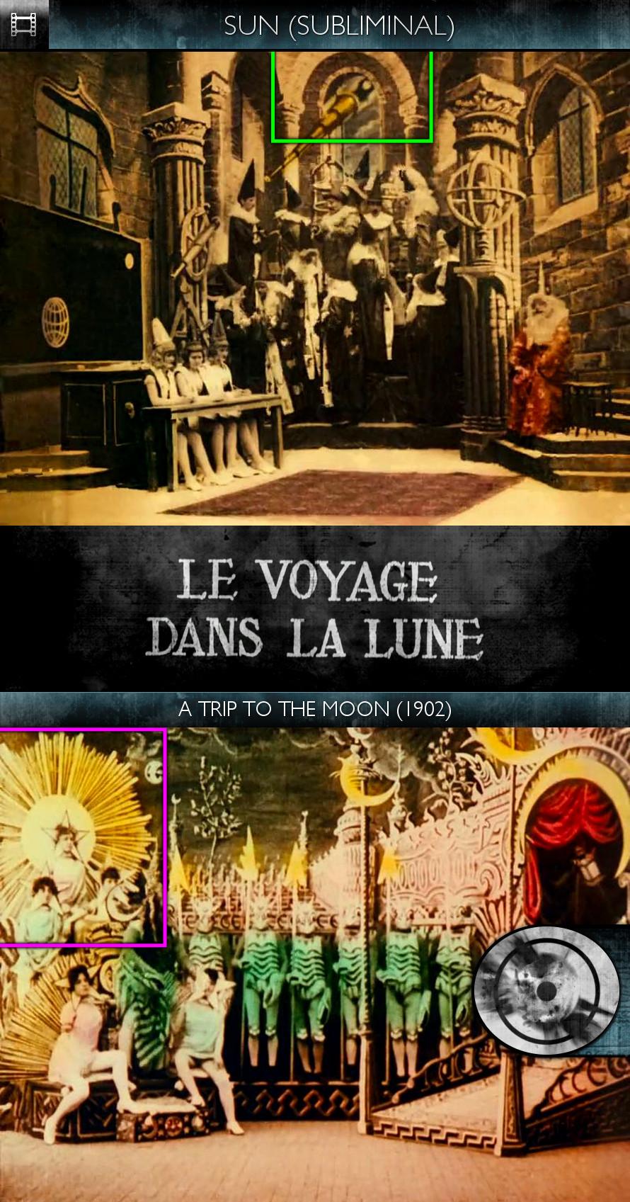Voyage dans la Lune (A Trip to the Moon) (1902) - Sun/Solar - Subliminal