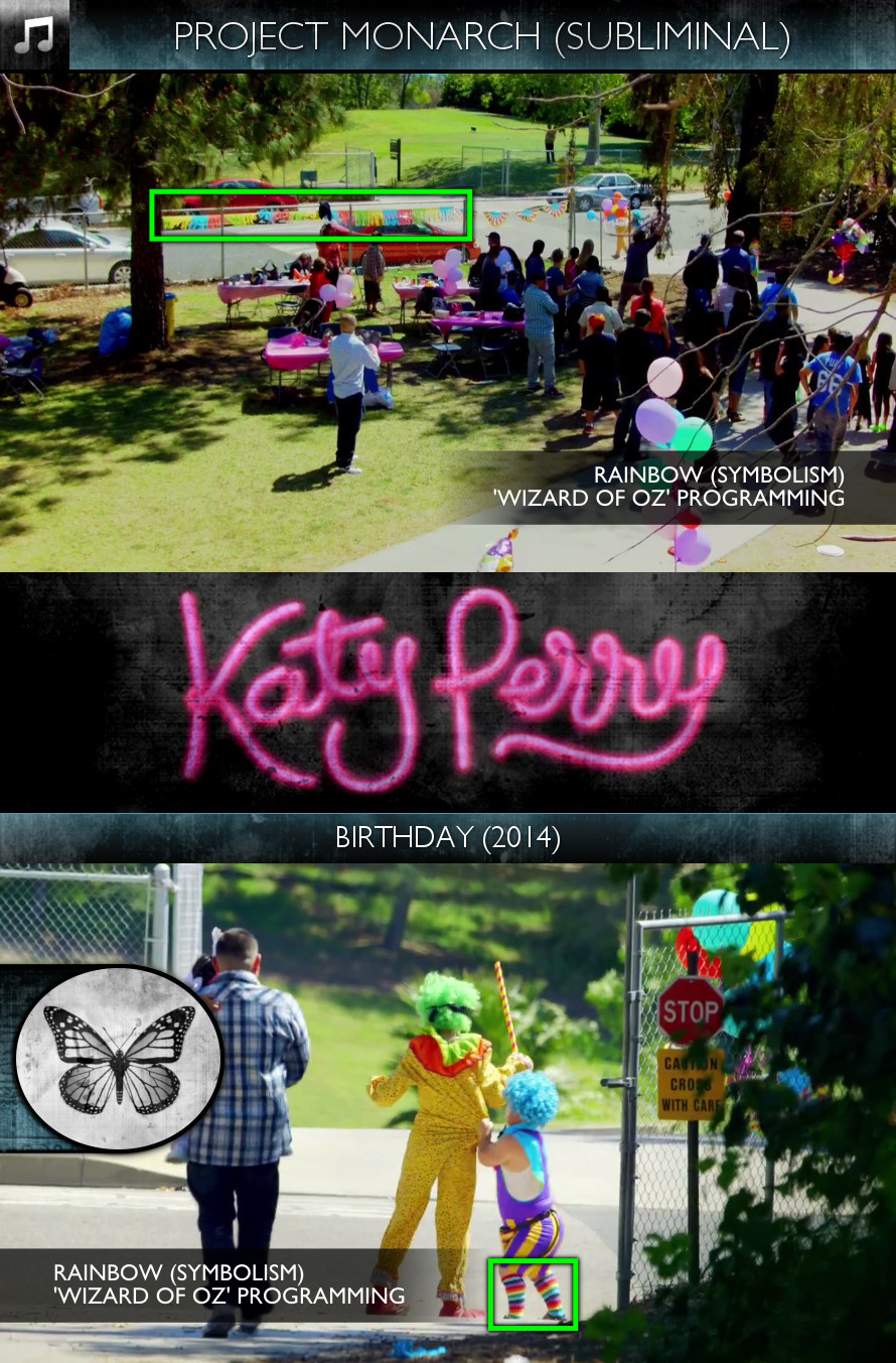 Katy Perry - Birthday (2014) - Project Monarch - Subliminal