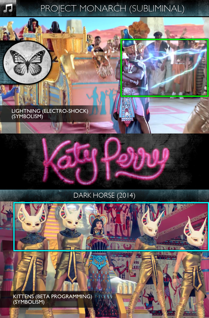 Katy Perry - Dark Horse (2014) - Project Monarch - Subliminal