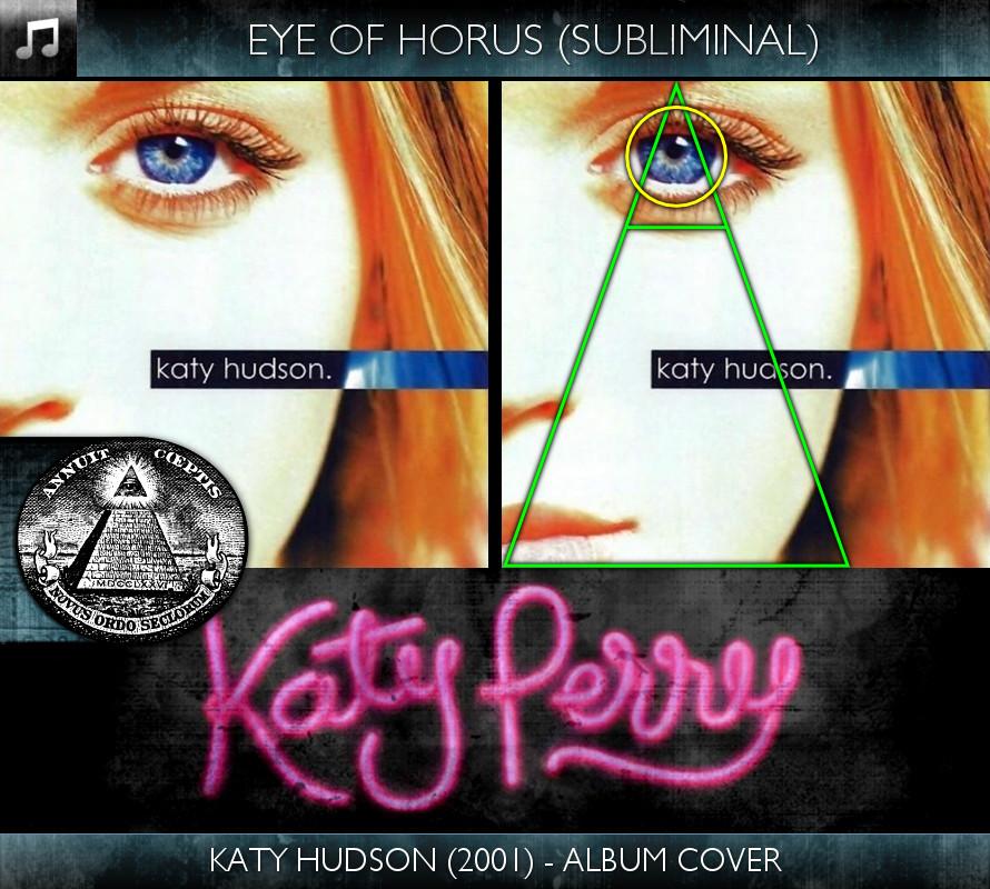 Katy Perry - Katy Hudson (2001) - Album Cover - Eye of Horus - Subliminal