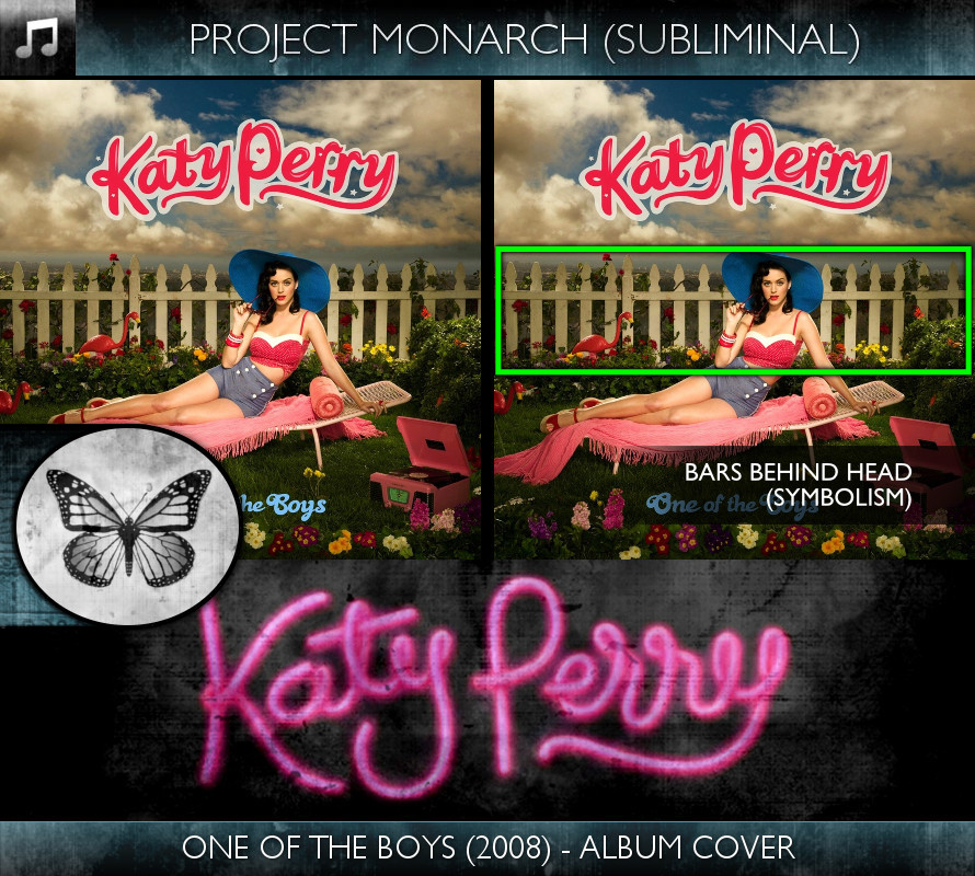 Katy Perry - One of the Boys (2008) - Album Cover - Project Monarch - Subliminal