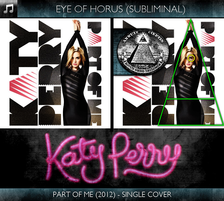 Katy Perry - Part of Me (2012) - Single Cover - Eye of Horus - Subliminal