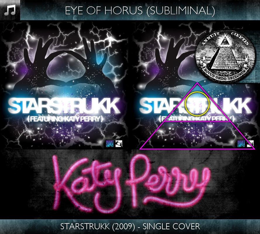 Katy Perry - Starstrukk (2009) - Single Cover - Eye of Horus - Subliminal