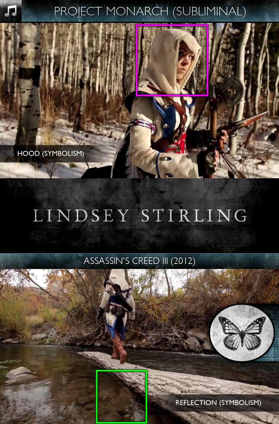 Lindsey Stirling - Assassin's Creed III (2012) - Project Monarch - Subliminal