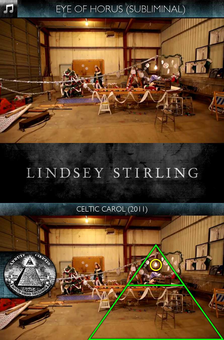 Lindsey Stirling - Celtic Carol (2011) - Eye of Horus - Subliminal