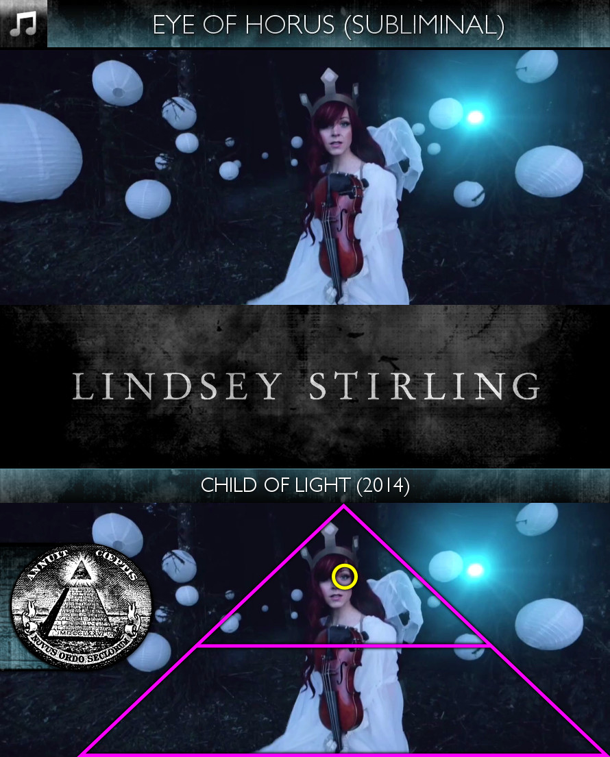 Lindsey Stirling - Child of Light (2014) -- Eye of Horus - Subliminal