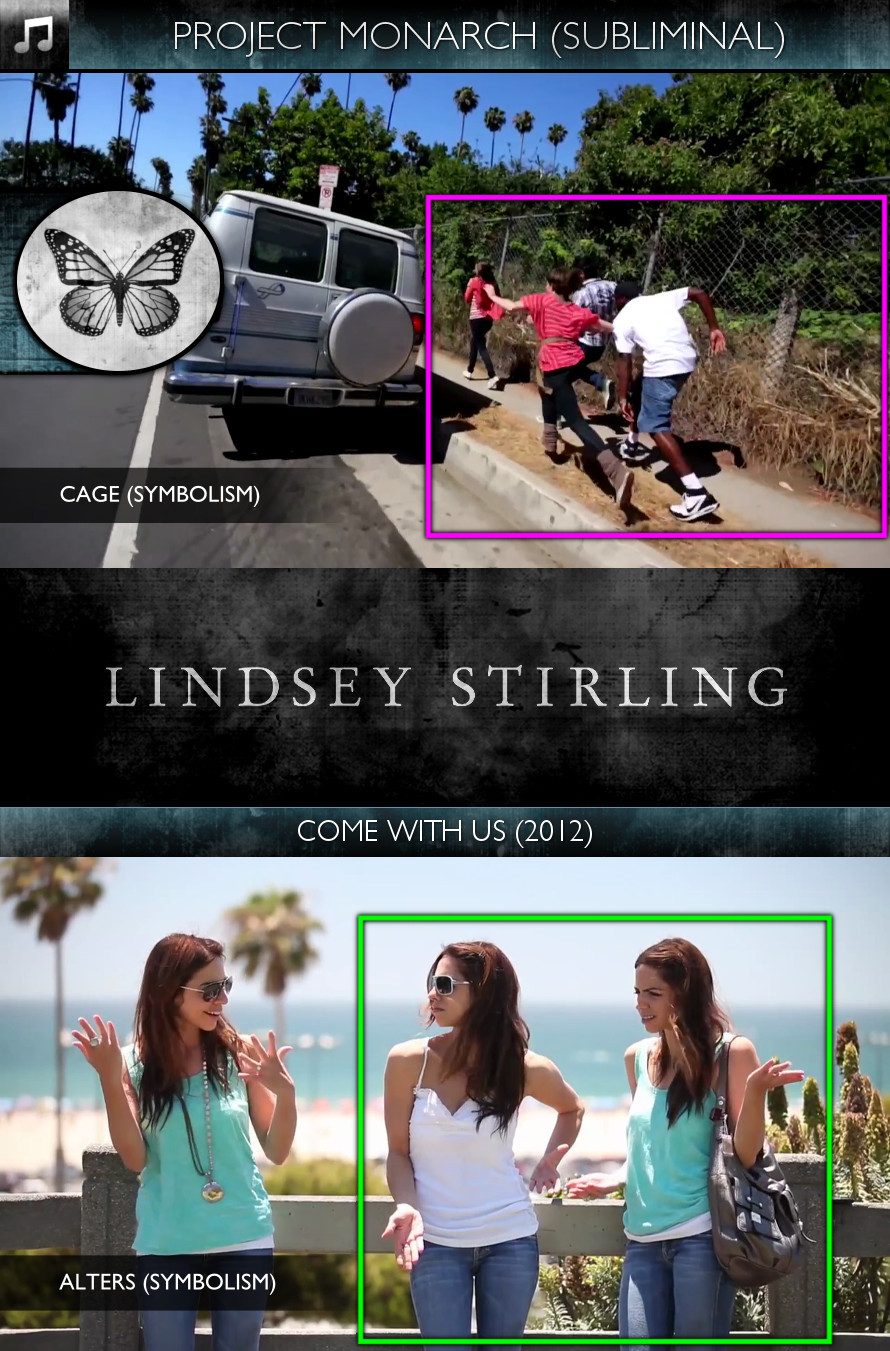 Lindsey Stirling - Come With Us (2012) - Project Monarch - Subliminal