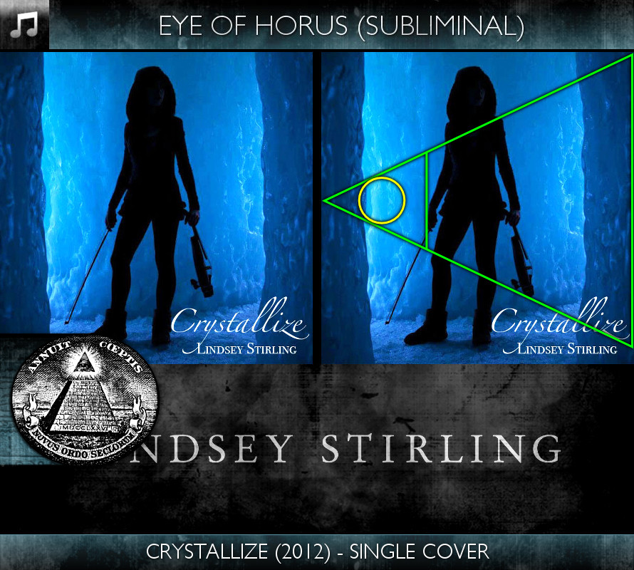 Lindsey Stirling - Crystallize (2012) - Single Cover - Eye of Horus - Subliminal
