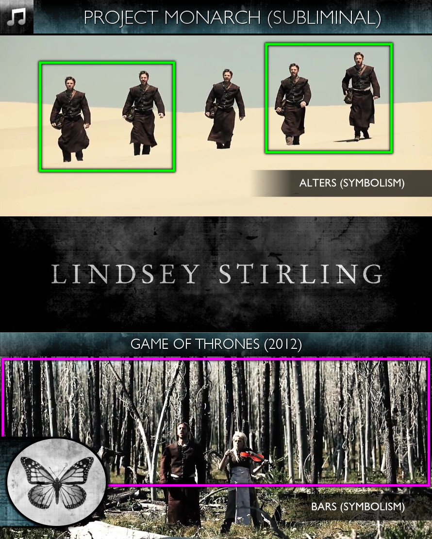 Lindsey Stirling - Game of Thrones (2012) - Project Monarch - Subliminal