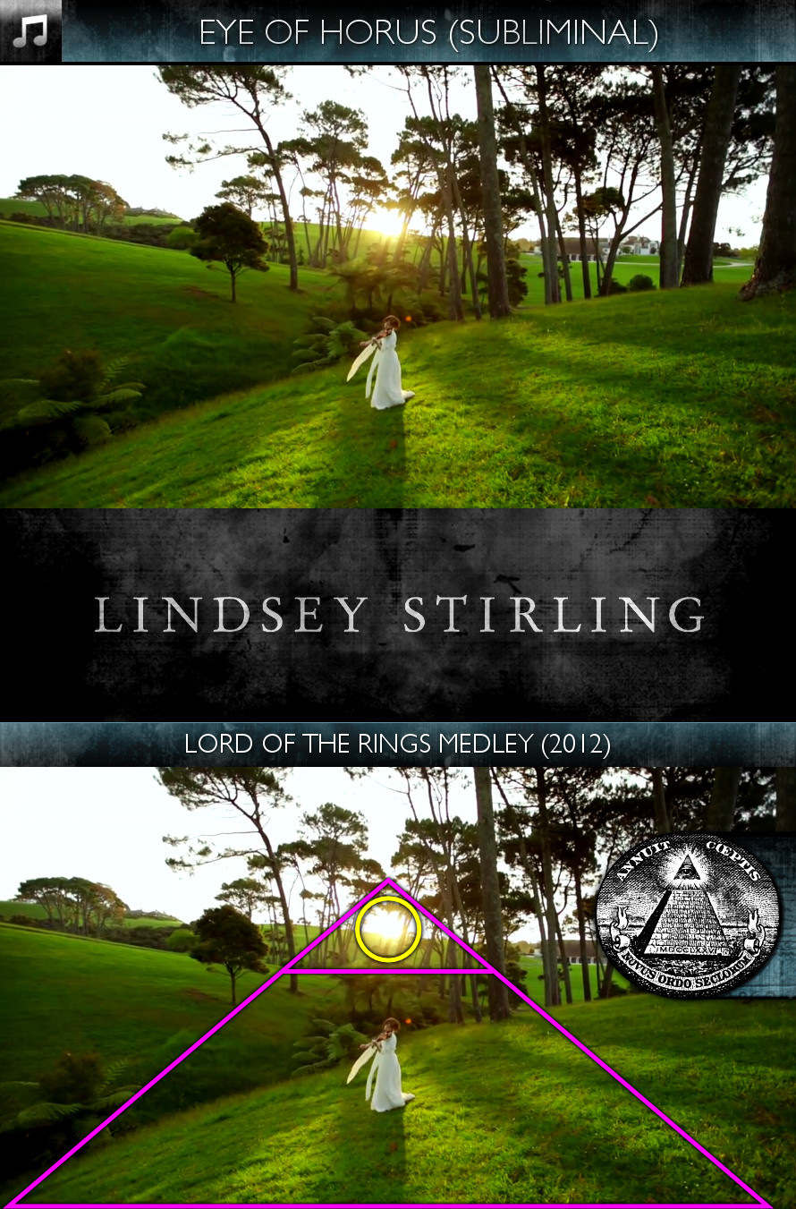 Lindsey Stirling - Lord of the Rings Medley (2012) - Eye of Horus - Subliminal