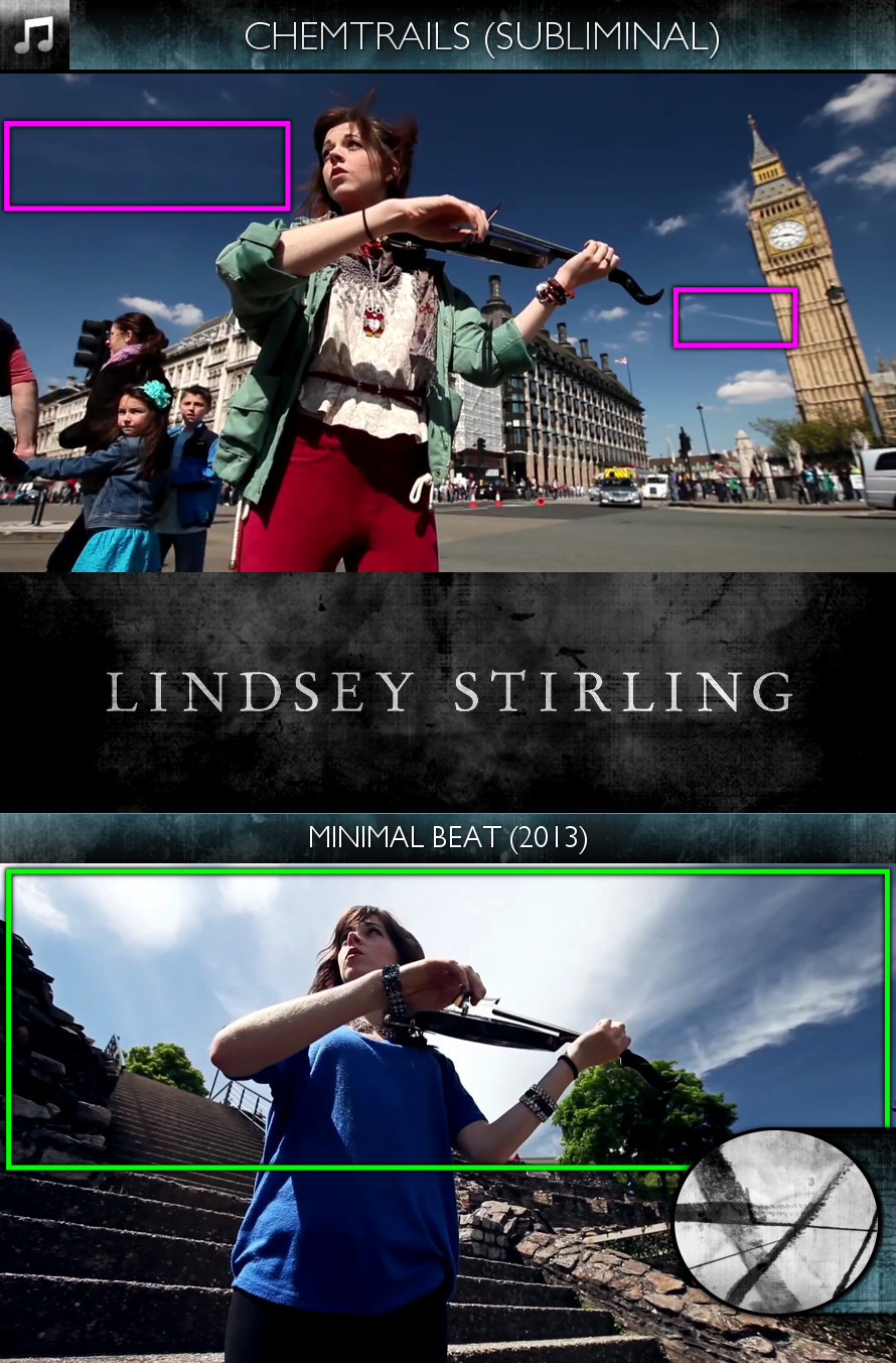 Lindsey Stirling - Minimal Beat (2013) - Chemtrails - Subliminal
