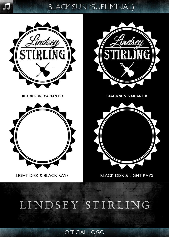 Lindsey Stirling - Official Logo - Black Sun - Subliminal