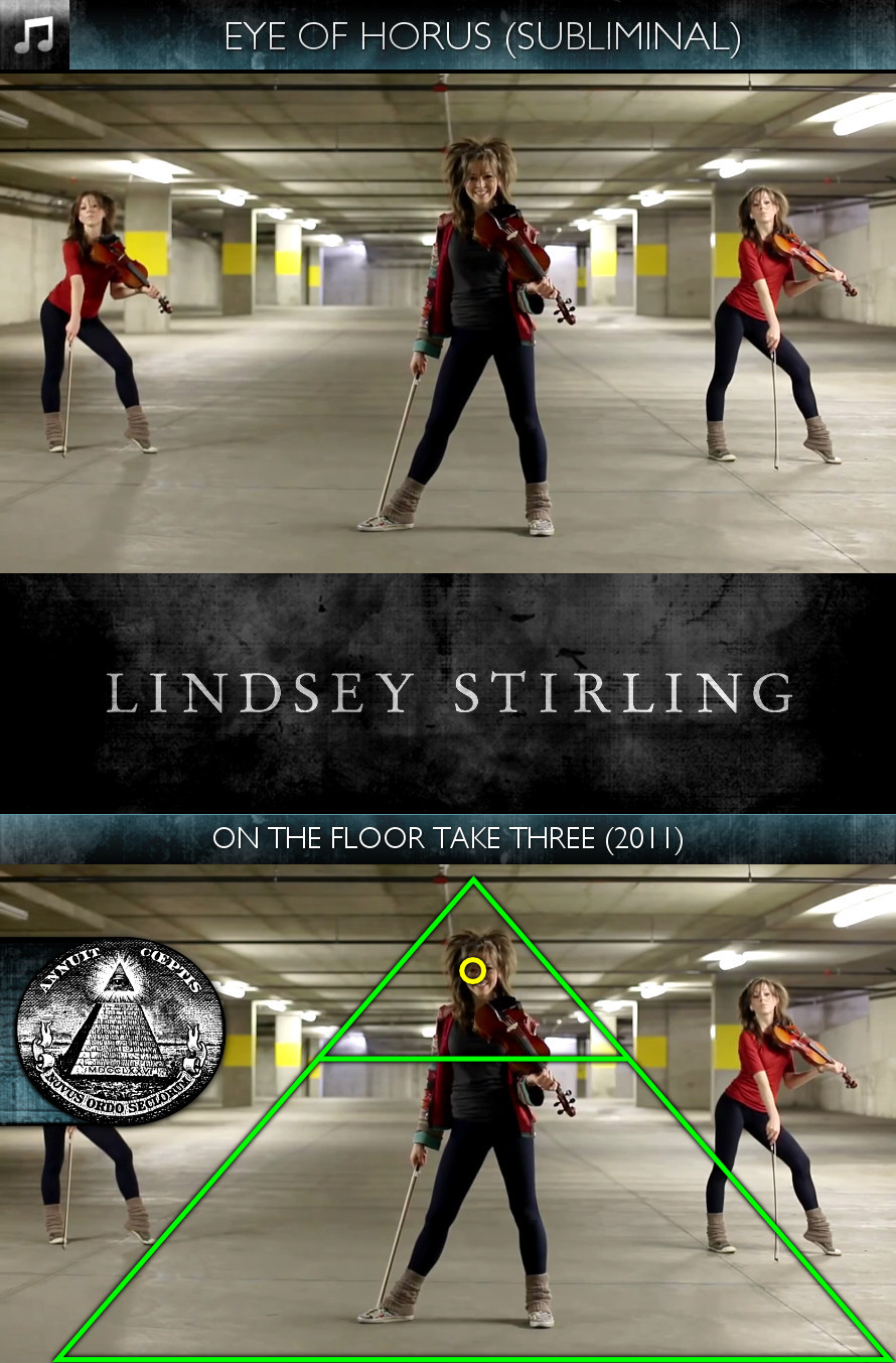Lindsey Stirling - On the Floor Take Three (2011) - Eye of Horus - Subliminal