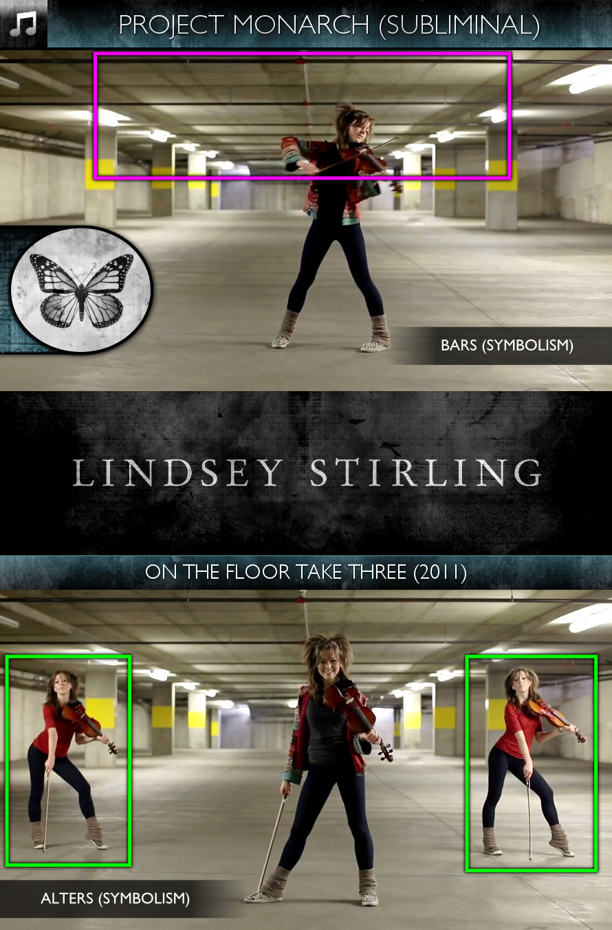 Lindsey Stirling - On the Floor Take Three (2011) - Project Monarch - Subliminal