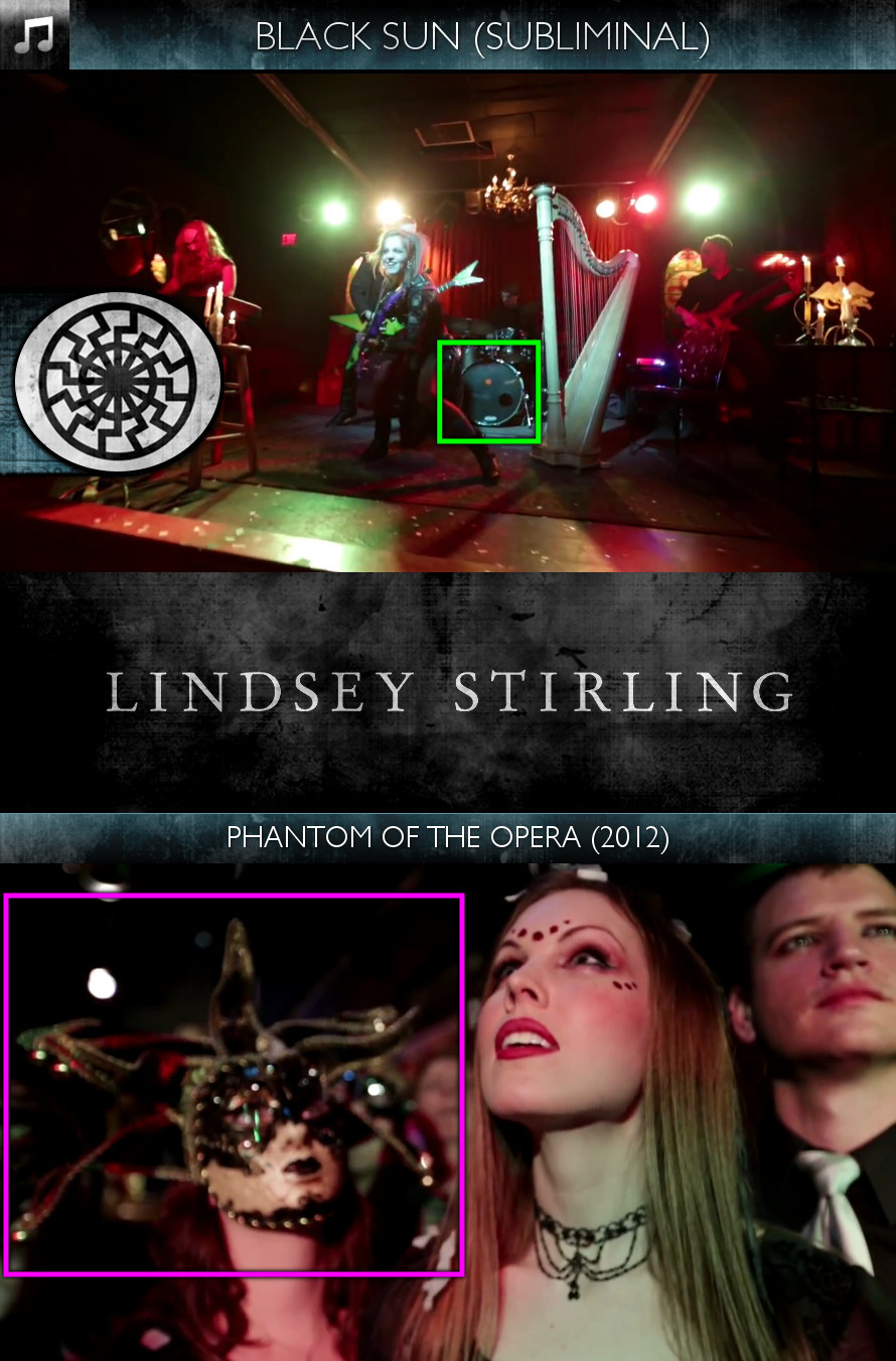 Lindsey Stirling - Phantom of the Opera (2012) - Black Sun - Subliminal