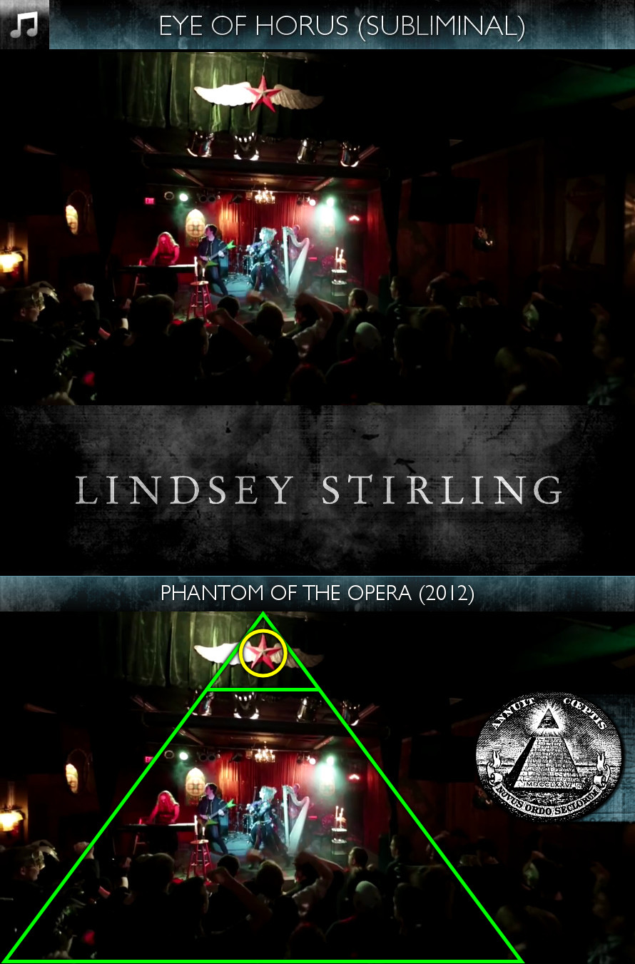 Lindsey Stirling - Phantom of the Opera (2012) - Eye of Horus - Subliminal