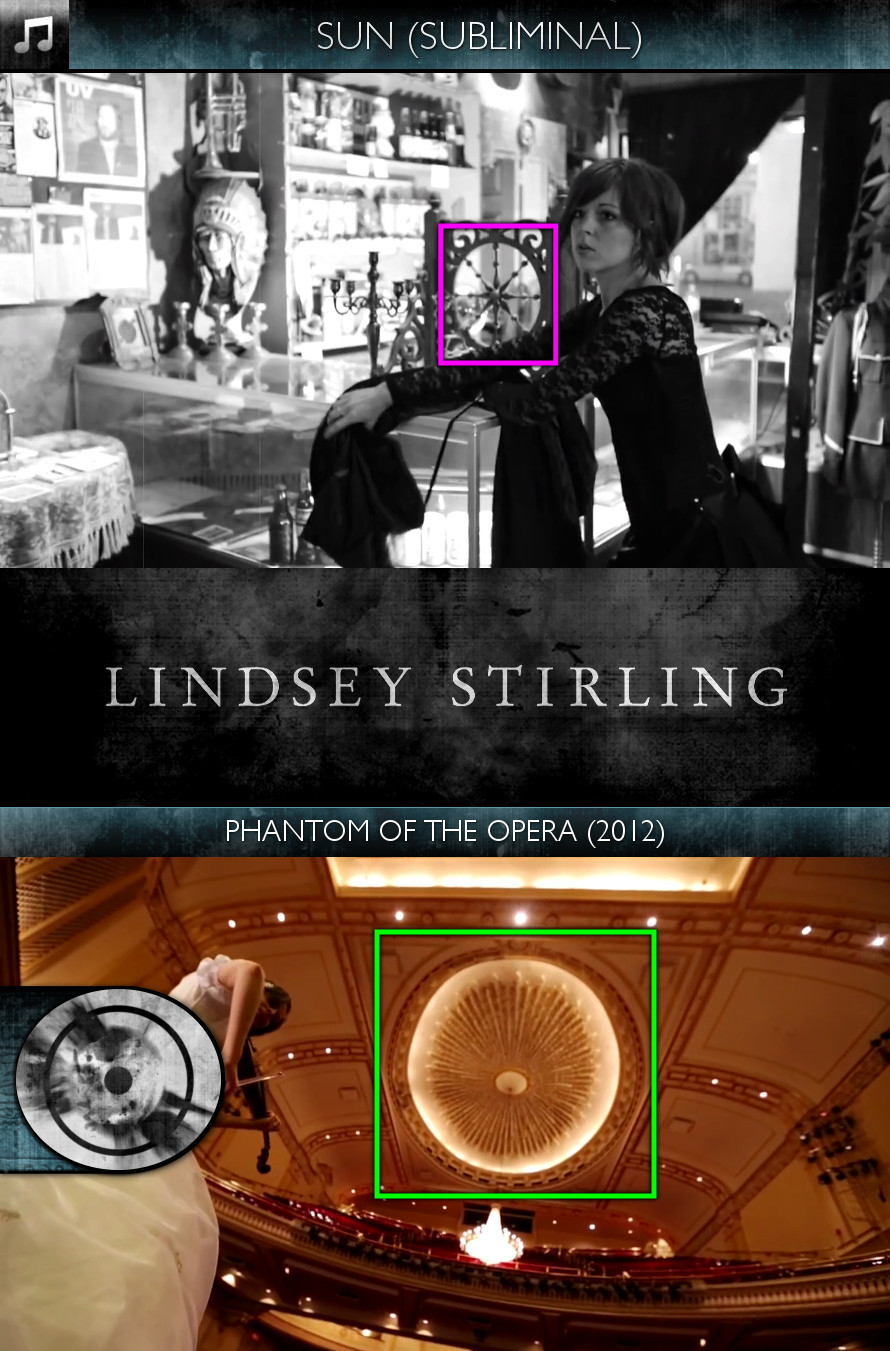 Lindsey Stirling - Phantom of the Opera (2012) - Sun/Solar - Subliminal