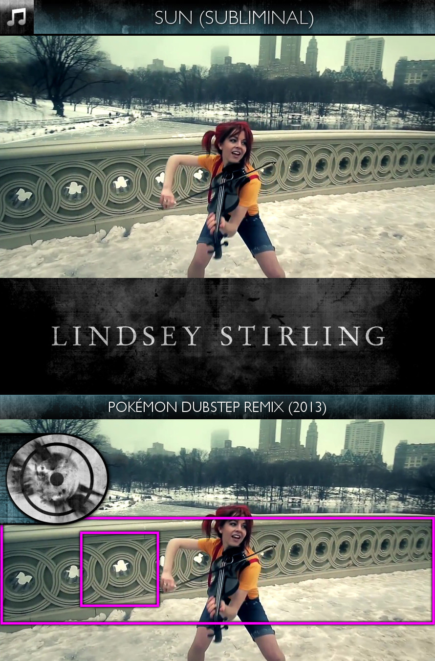 Lindsey Stirling - Pokémon Dubstep Remix (2013) - Sun/Solar - Subliminal