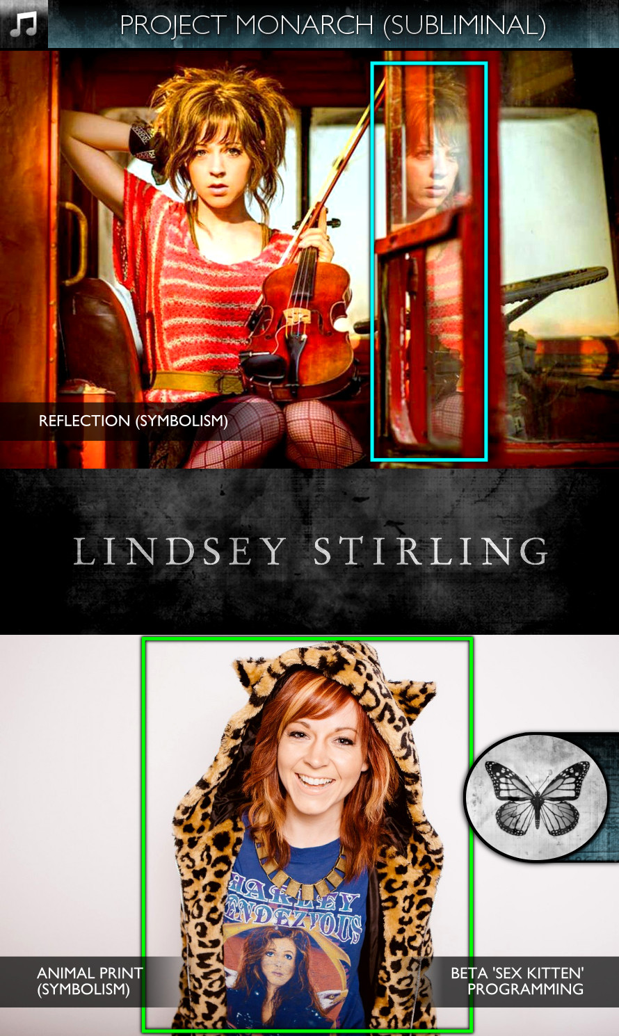 Lindsey Stirling - Promo Photos - Project Monarch - Subliminal