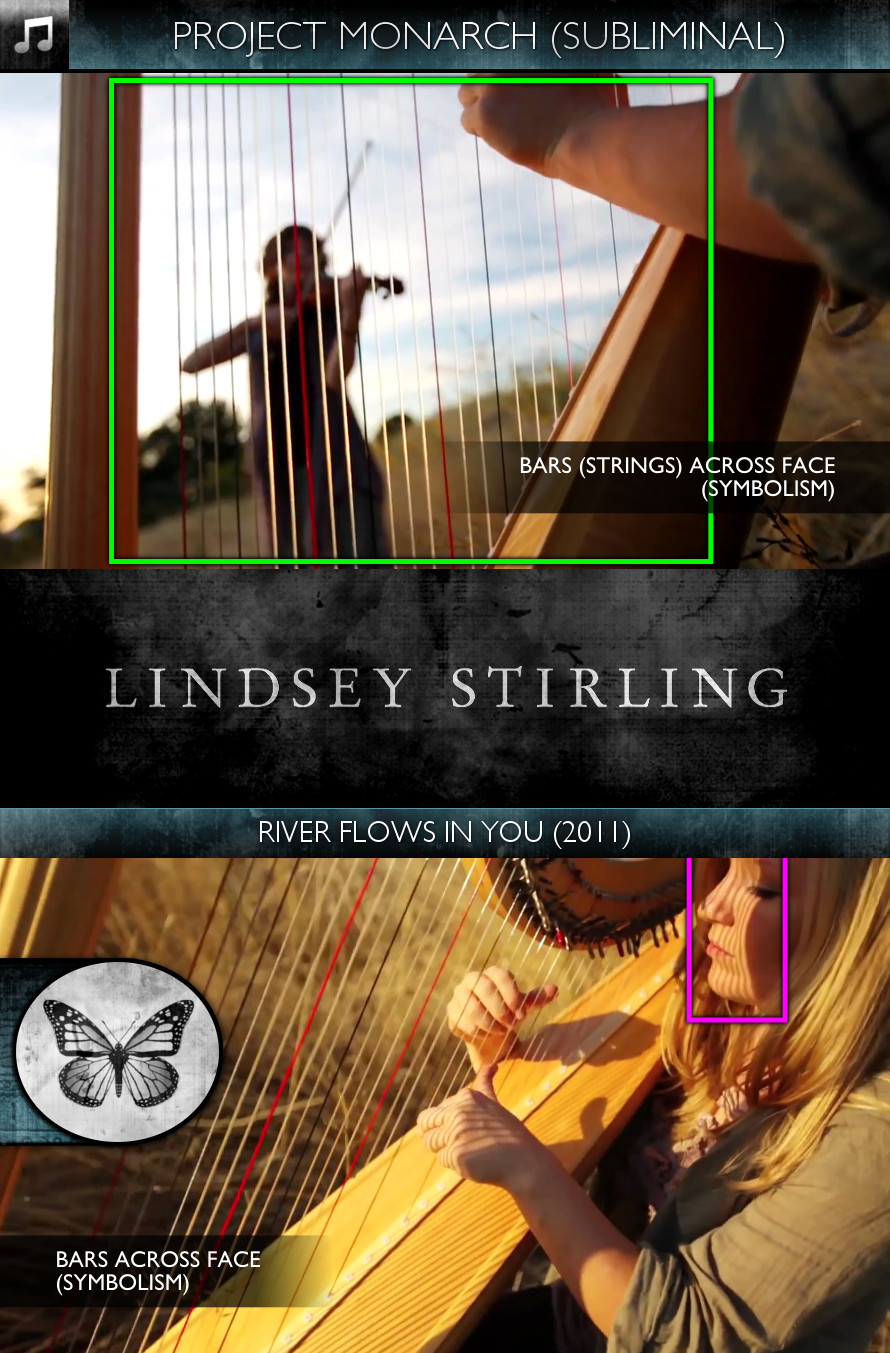 Lindsey Stirling - River Flows in You (2011) - Project Monarch - Subliminal