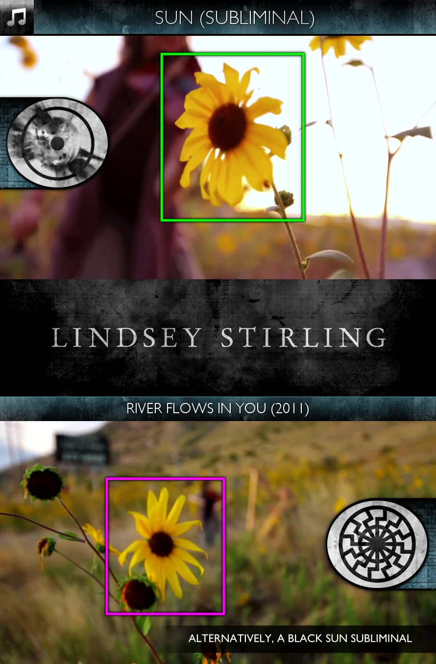 Lindsey Stirling - River Flows in You (2011) - Sun/Solar & Black Sun - Subliminal